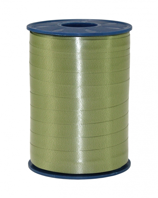 Präsent Band AMERICA Olive, 250m x 10mm, Ringelband ...